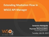 Extending Mediation Flow in WSO2 API Manager