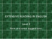 Extensive Reading In English.Level 2
