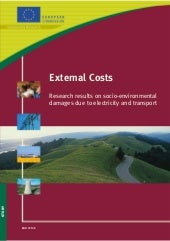 External Costs: Socio-Environmental...