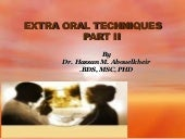 Extra-oral Radiology Techniques II