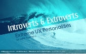 Introverts and Extroverts: Extreme UX Personalities