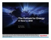 Exxon Mobil 2012 Energy Outlook