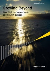 EY Growing Beyond: How high perform...