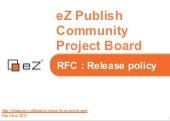 RFC - Release policy - eZ Publish C...