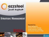 Ezz Steel Strategic Management Proj...