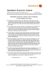 Swedish Economic Outlook