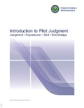 Introduction to Pilot Judgement FAA...