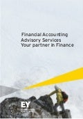 EY financial accounting advisory services  - Your partner in finance