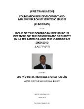 DOMINICAN REPUBLIC IN DEFENSE OF TH...
