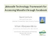 Faboodle technology framework for a...