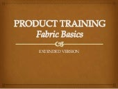 Fabric training for retail staff   ...