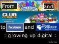 From Webkinz and Club Penguin to Facebook and Myspace: Growing up Digital