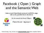 Facebook ( Open ) Graph and the Sem...