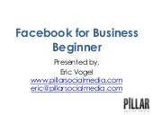 How to Use Facebook For Business - ...