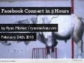 Facebook Connect in 3 Hours