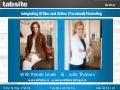 TabSite Webinar: Integrating Offline and Online Marketing
