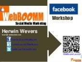 Facebook online workshop webboomm