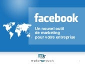 Facebook, un outil marketing pour v...