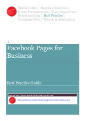 Facebook pages for_business_best_pr...