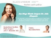 Facial Rejuvenation by John T. Alex...