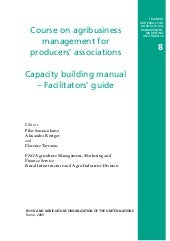 Capacity Building Manual - Facilita...