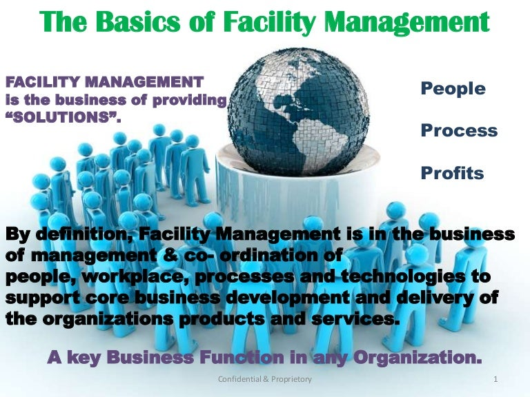 Facilities management business plan