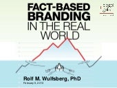 Fact-Based Branding in the Real World