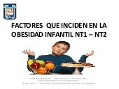 Factores que inciden en la obesida...