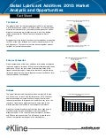 Global Lubricant Additives 2010 - Fact Sheet