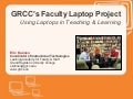 Faculty Laptop Project - Teaching and Learning with Laptops at GRCC