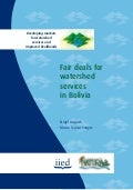 Fair Deals For Watershed Services In Bolivia, Asquith & Vargas