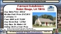 Fairmont Subdivision Baton Rouge Home Sales Update as of 11 26 2014