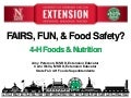 Fairs, Fun and Food Safety!