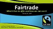 Fairtrade MSLS Final Presentation