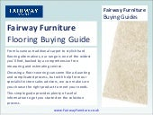 Fairway Furniture - Flooring Buying...
