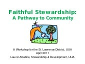 Faithful stewardship -sld 2011, final