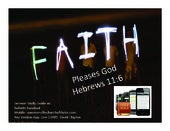 Faith Pleases God Sermon Slides