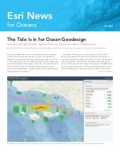 Esri News for Oceans Fall 2012 news...