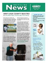 Fall 2011 Recycling newsletter