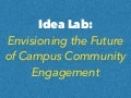Bonner Fall Directors 2016 - Idea Lab - Envisioning Future