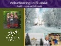 Fall in Love with Russia, CCS Webinar Presentation