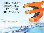Fall of indian rupee