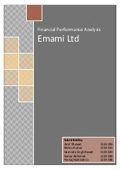 FAM - Emami Ltd - Financial Analysi...
