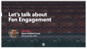 Fan enablement, not engagement by 383