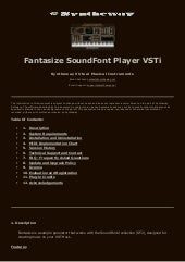 Syntheway Fantasize SoundFont SF2 S...