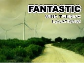 Fantastic Wind Turbine Locations