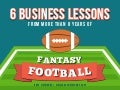 Six Business Lessons From 10 Years Of Fantasy Football