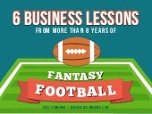 6 Business Lessons Learned From Fantasy Football