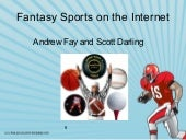 Fantasy sports on the internet
