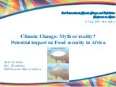 Climate Change: Myth or reality? Po...